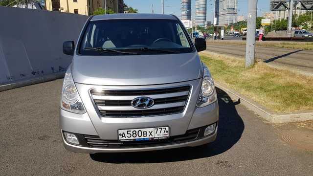 Купить микроавтобус Хундай Н-1 2014 в Москве