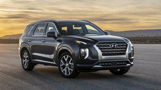 Новый кроссовер Hyundai Palisade (Хендай Палисад)