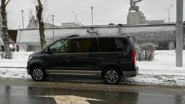 Купить микроавтобус Хюндай Старекс 4wd в Москве 2018 г. - Рестайлинг