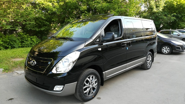 Купить микроавтобус Старекс 4wd modern special 2017 г. в Москве