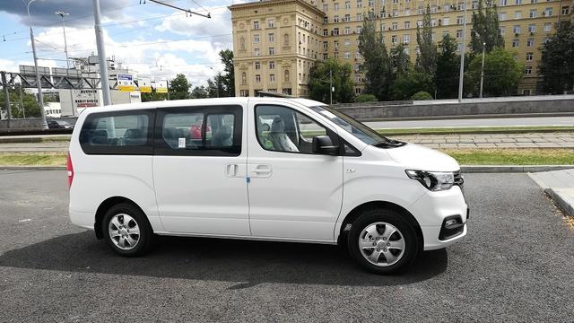 Купить микроавтобус Старекс 4wd 2019 г. Modern Special полный привод в Москве