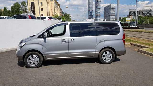 Купить микроавтобус Старекс 4wd максимальная комплектация HVX 2015 г. в Москве