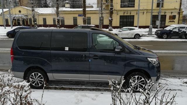 Купить микроавтобус Хюндай Старекс 4wd URBAN EXCLUSIVE в Москве 2018 г.