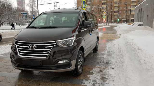Купить микроавтобус Старекс 4wd 2018 г. URBAN EXCLUSIVE полный привод в Москве