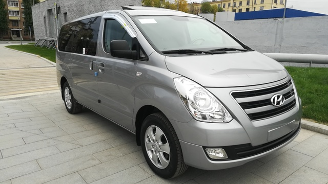 Купить микроавтобус Хюндай Старекс 4wd максимальная комплектация в Москве 2018 г.