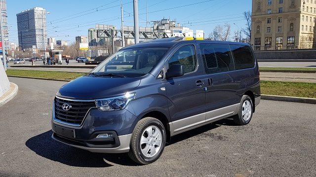 Купить микроавтобус Старекс 4wd 2019 г. URBAN EXCLUSIVE полный привод в Москве
