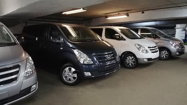 Купить микроавтобус Хюндай Старекс 4wd в Москве 2018 г.